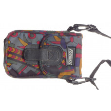 Colourful camera pouch compact shoulder strap