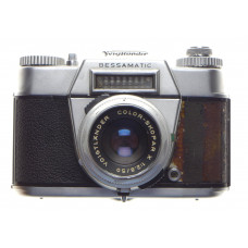 BESSAMATIC 35mm SLR camera vintage film type Skopar X 2.8/50