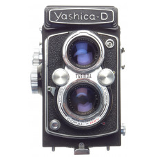 Yashica D 120 film camera TLR Yashicor 3.5 f=80mm use condition