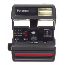 POLAROID 636 Talking Camera INSTANT film Smile boxed