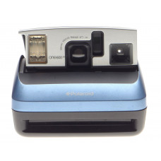 Polaroid One600 instant film vintage camera Retro Blue