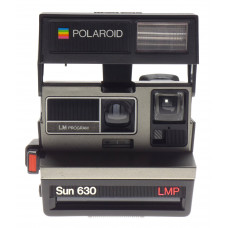Polaroid Sun 630 LMP Program instant camera vintage retro type