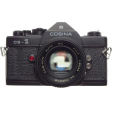 COSINA CS-1 Black MINT Cosmetic condition SLR film 35mm camera