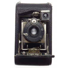 Eastman Kodak Folding vintage medium format camera Boyer Safir lens 6.3 f105mm