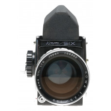 6x6 Kowa Six SLR medium format camera 3.5/150mm lens chrome