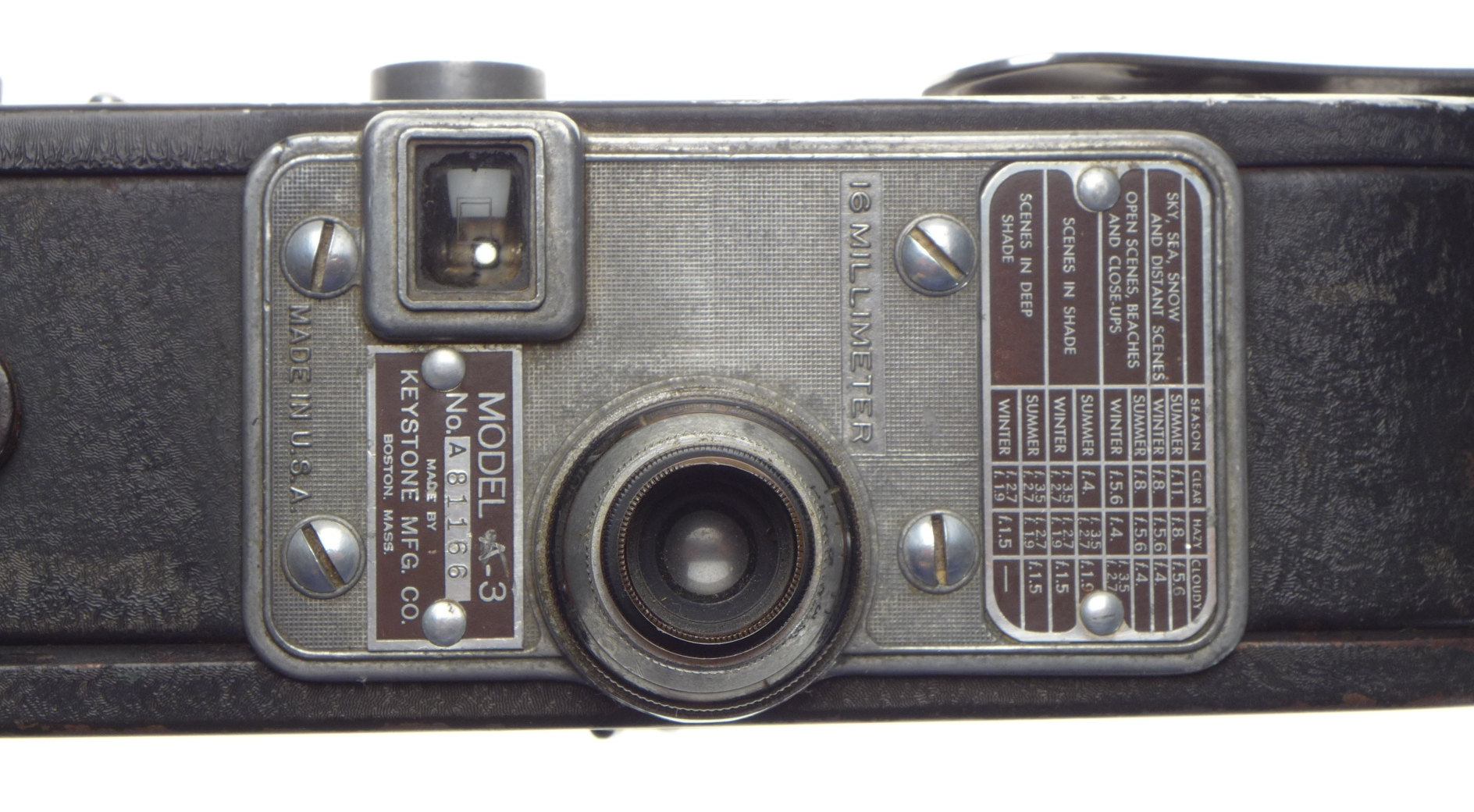 Other Film Cameras - Model A3 Keystone 16mm vintage film movie