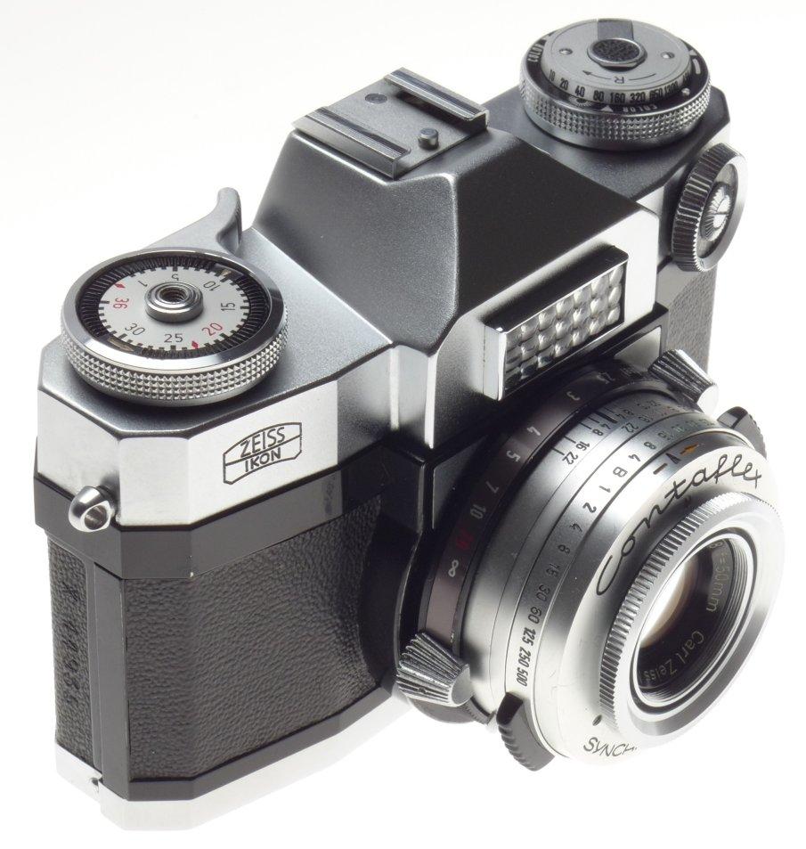 Compact Interchangeable Lens - ZEISS Ikon CONTAFLEX SLR 35mm